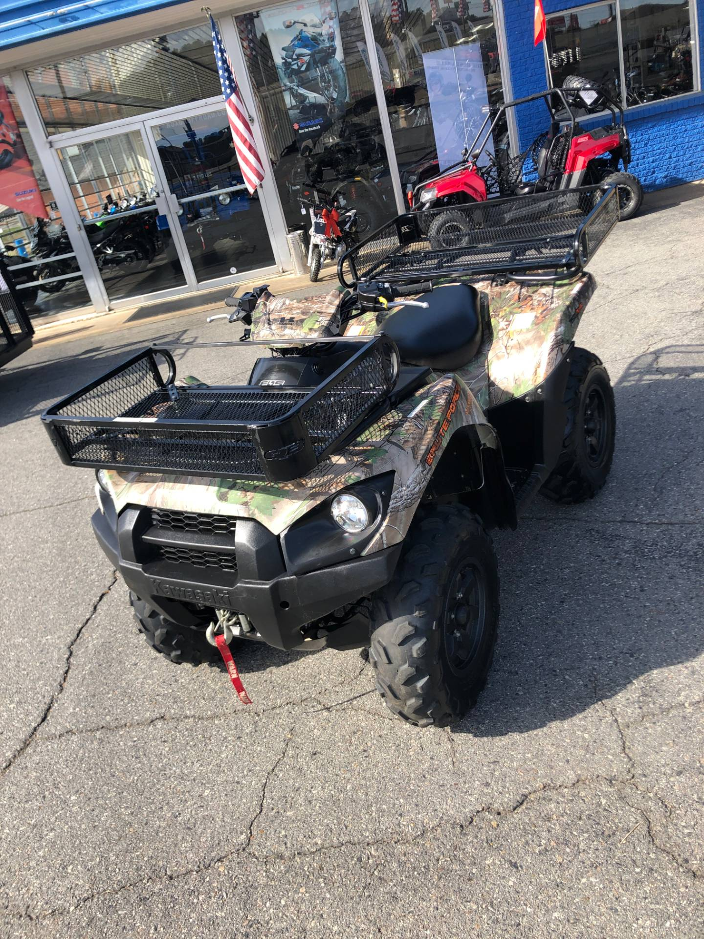 2016 Kawasaki Brute Force 750 4x4i EPS in Little Rock, Arkansas