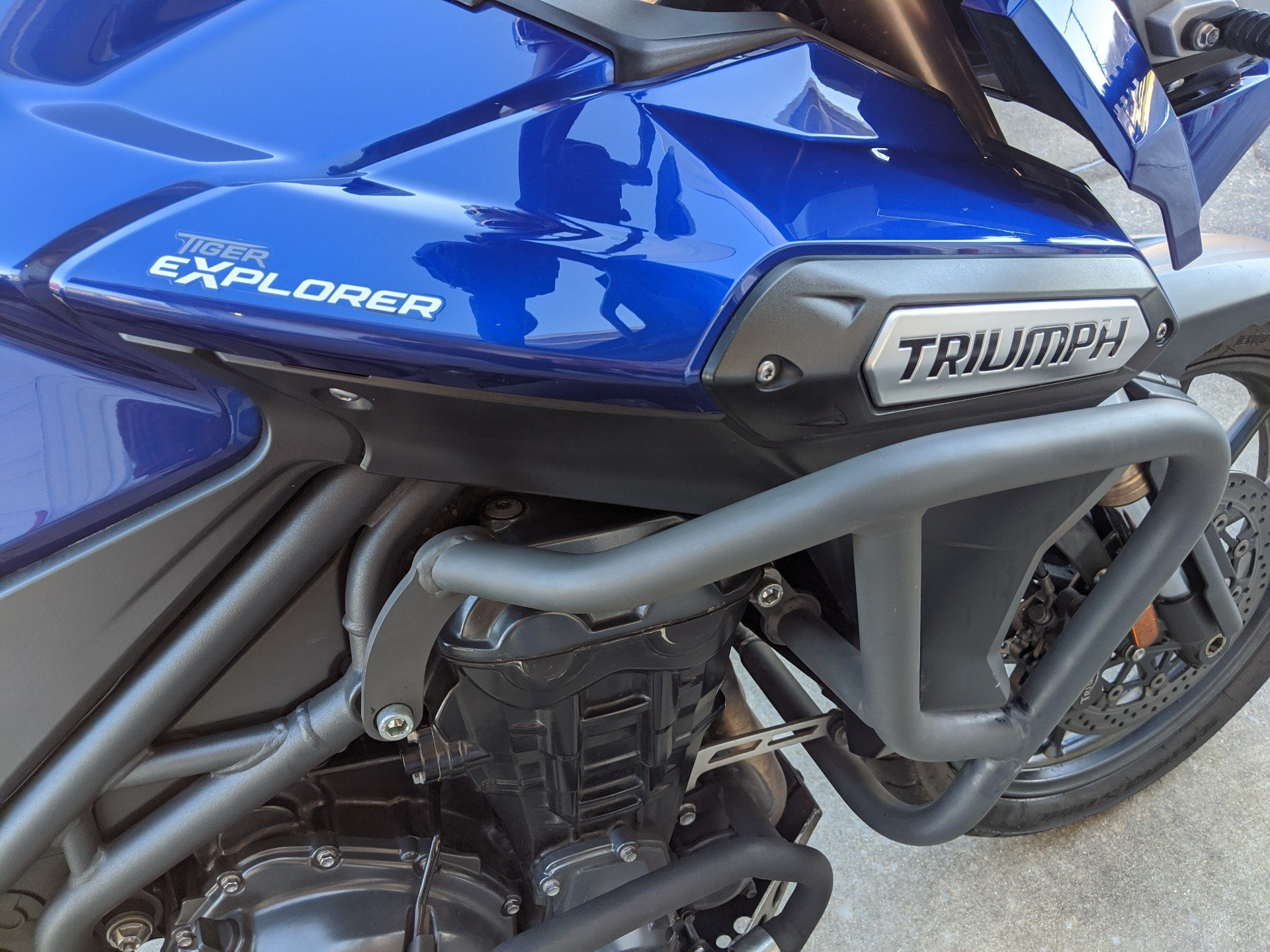 2013 Triumph Tiger Explorer ABS in Monroe, Louisiana - Photo 9