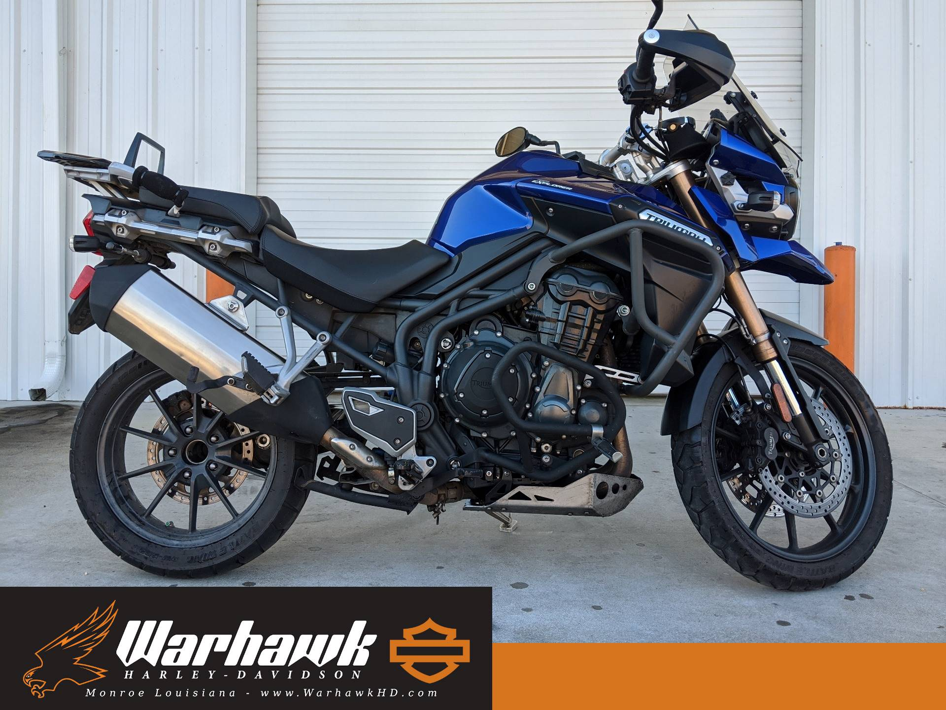 2013 Triumph Tiger Explorer ABS in Monroe, Louisiana - Photo 1