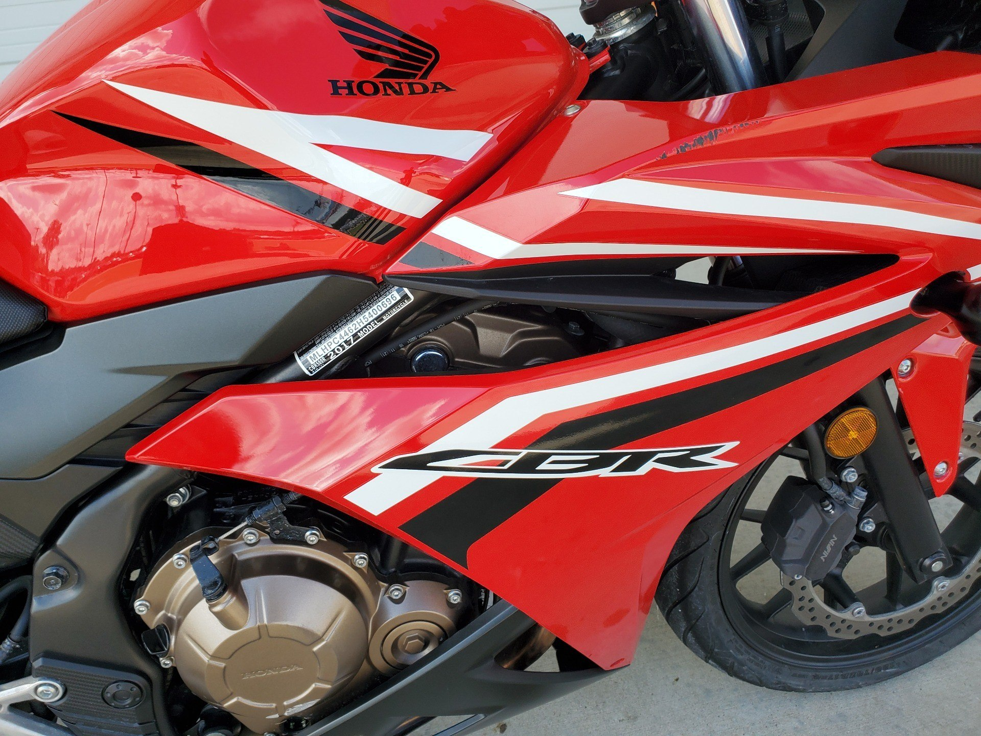 2017 Honda CBR500R in Monroe, Louisiana - Photo 12