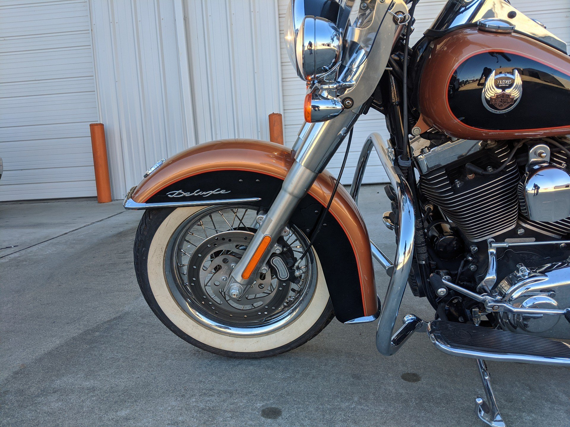 2008 Harley-Davidson Softail® Deluxe in Monroe, Louisiana - Photo 3
