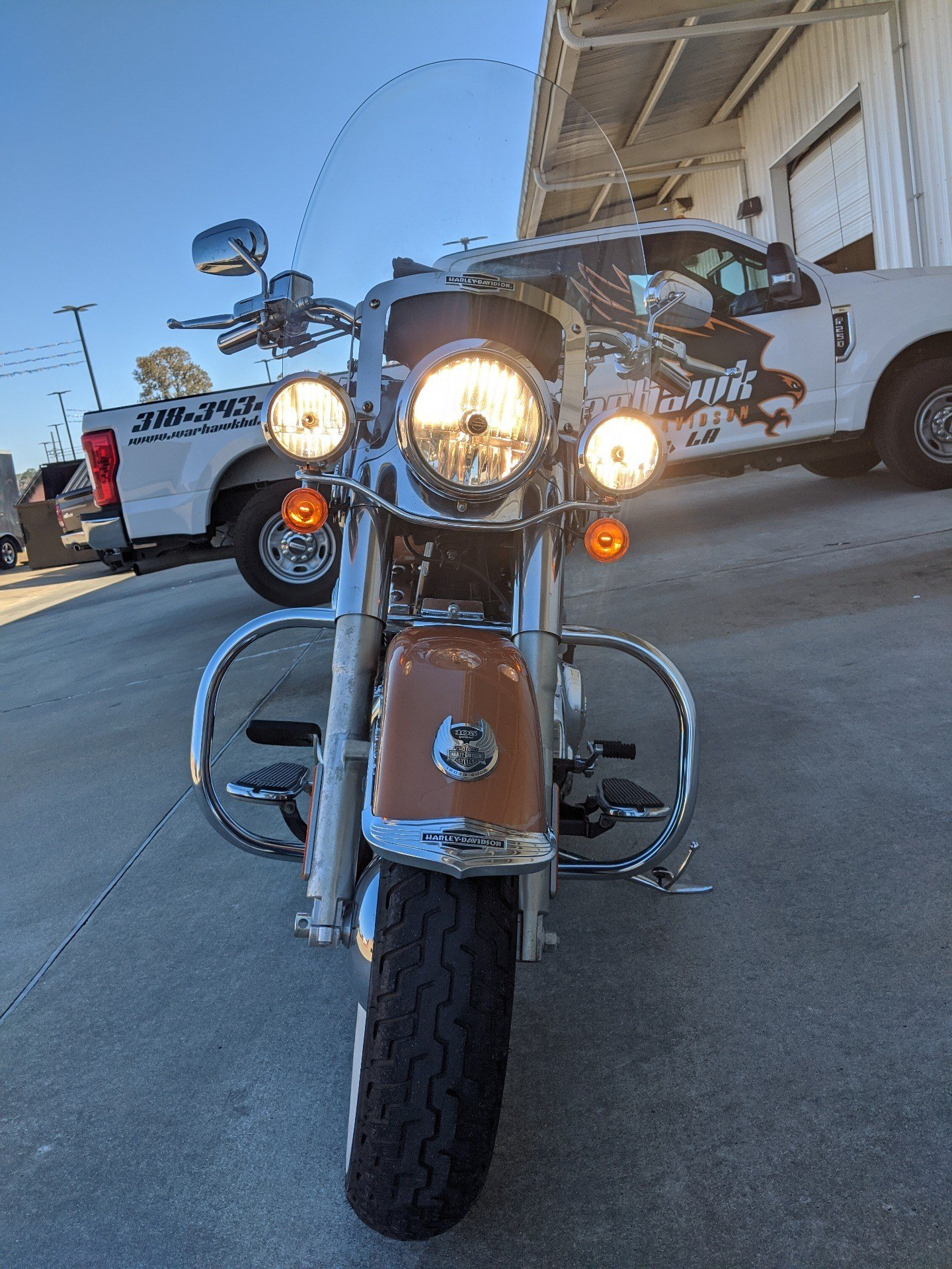 2008 Harley-Davidson Softail® Deluxe in Monroe, Louisiana - Photo 9