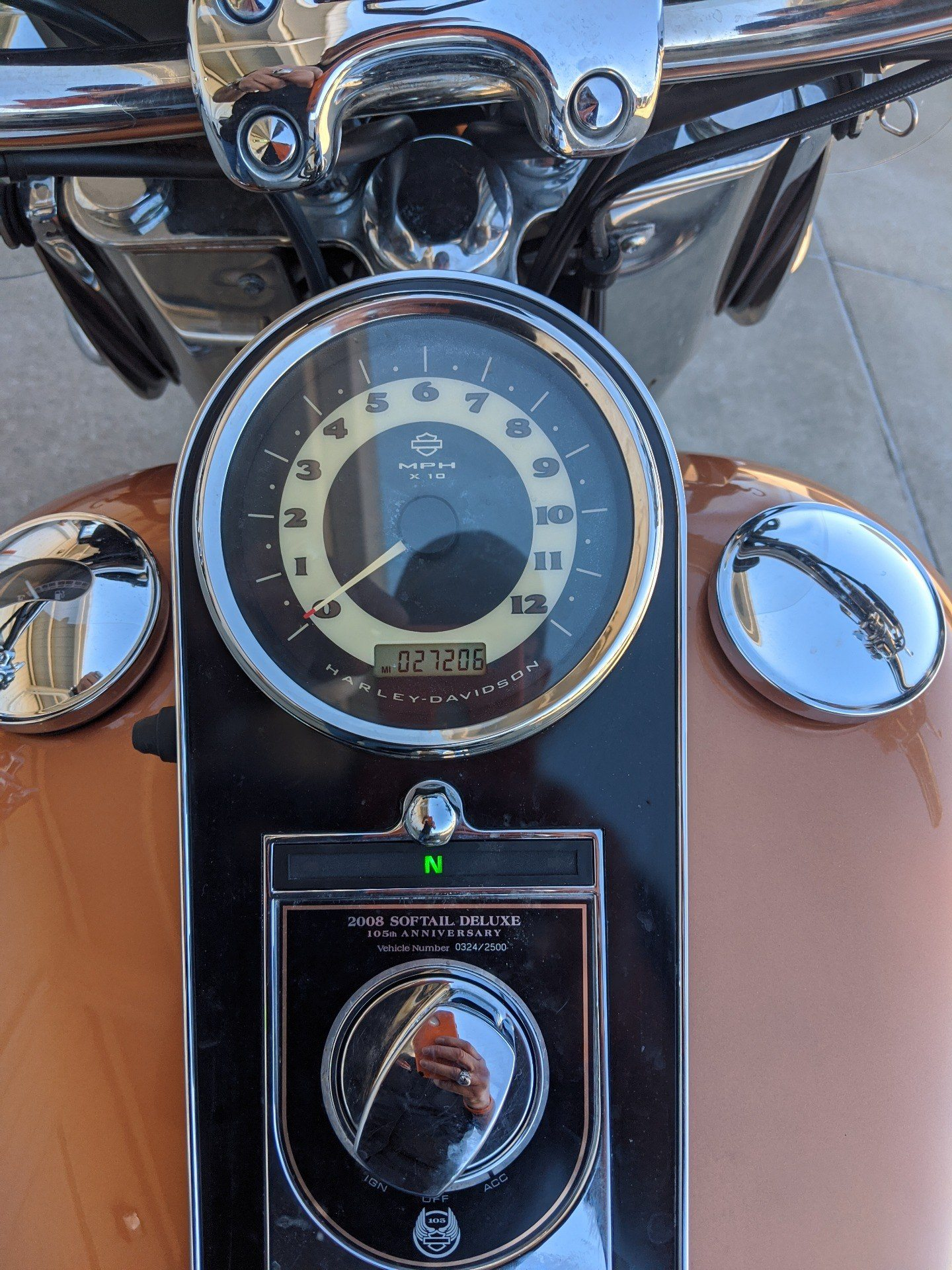 2008 Harley-Davidson Softail® Deluxe in Monroe, Louisiana - Photo 15