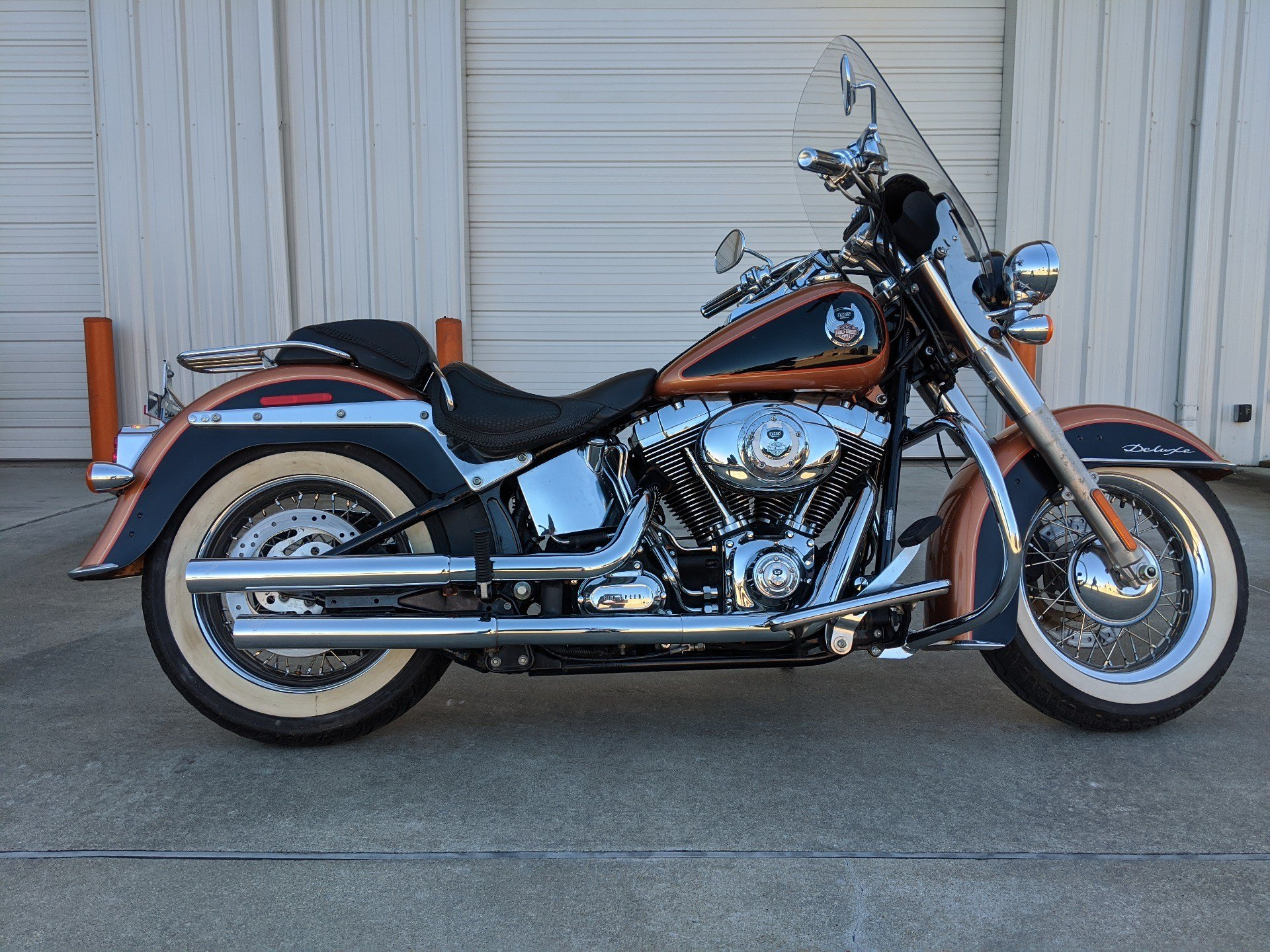 2008 Harley-Davidson Softail® Deluxe in Monroe, Louisiana - Photo 1