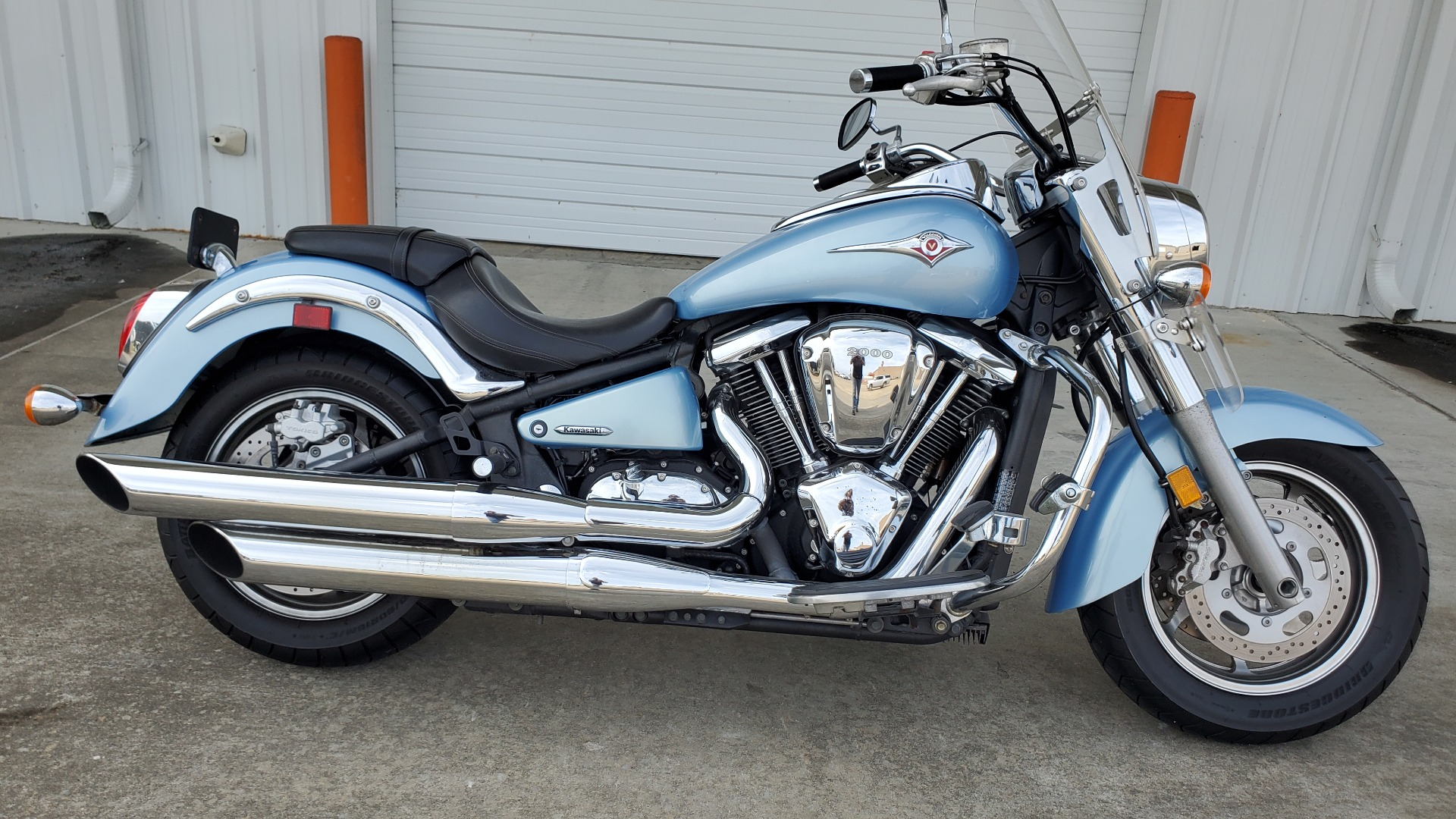 2004 kawasaki vulcan 2000 for sale near me - Photo 13