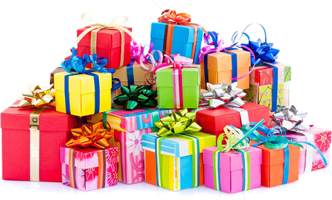 LOH free giftwrapping