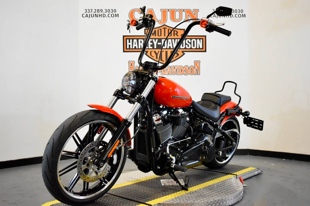 new orange Harley breakout - Photo 4