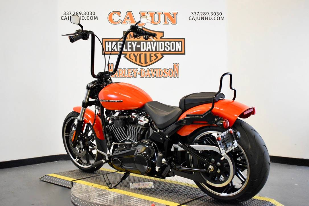 2020 orange harley - Photo 5