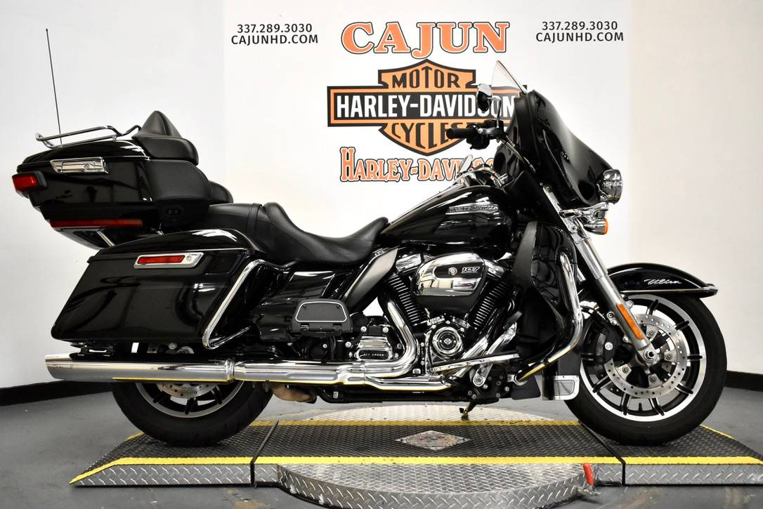 used black harley electra glide - Photo 1
