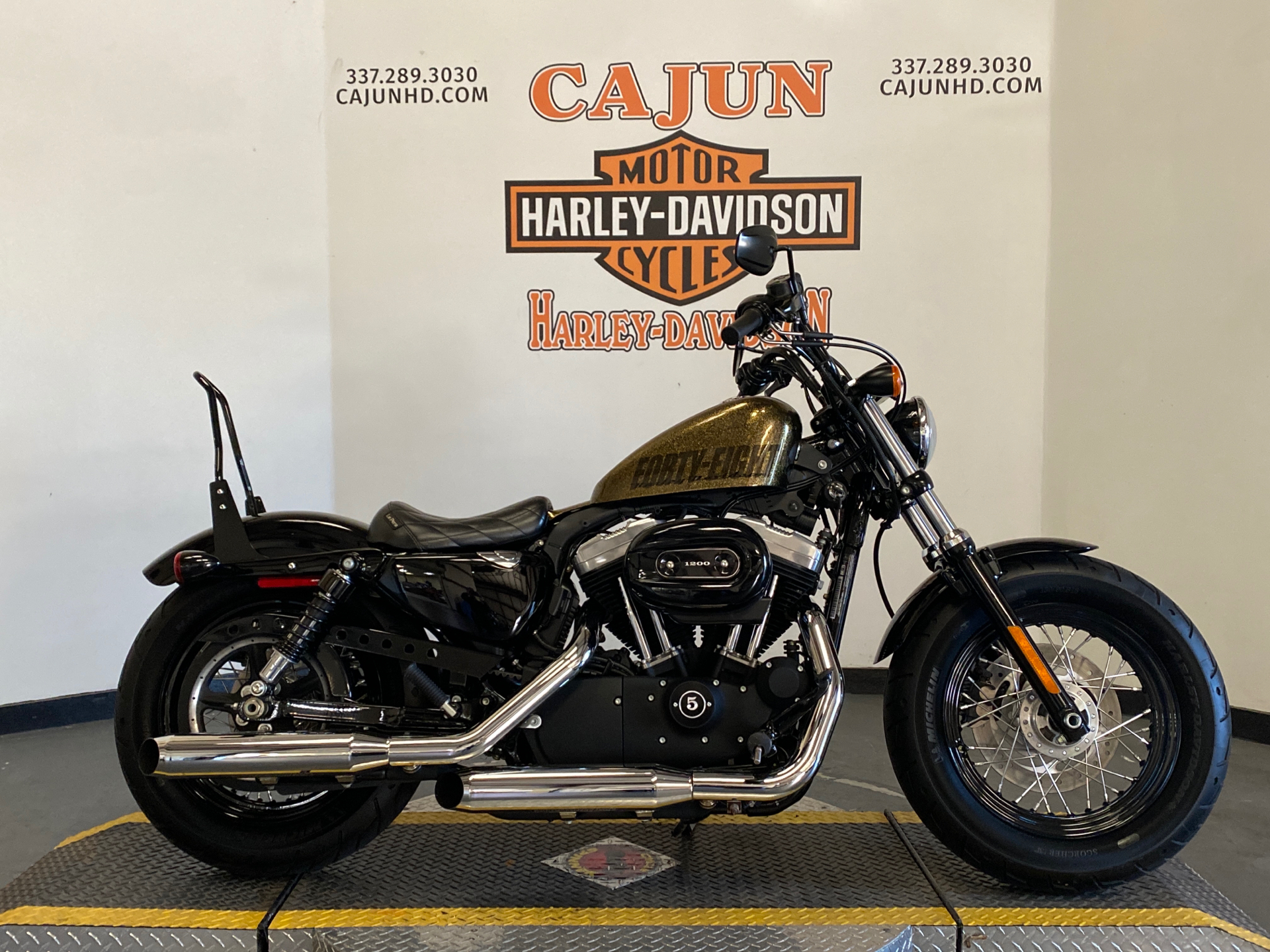 Used 2013 Harley Davidson Sportster Forty Eight Hard Candy Coloma Gold Flake Motorcycles In Scott La 441082