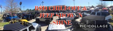 RSD Benefit - Chili Cook-off and Jeep Show N Shine