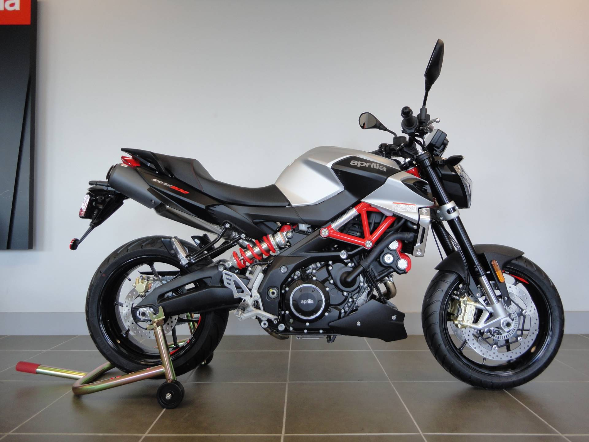 New 2018 Aprilia Shiver 900 Motorcycles in Houston, TX | Stock ...