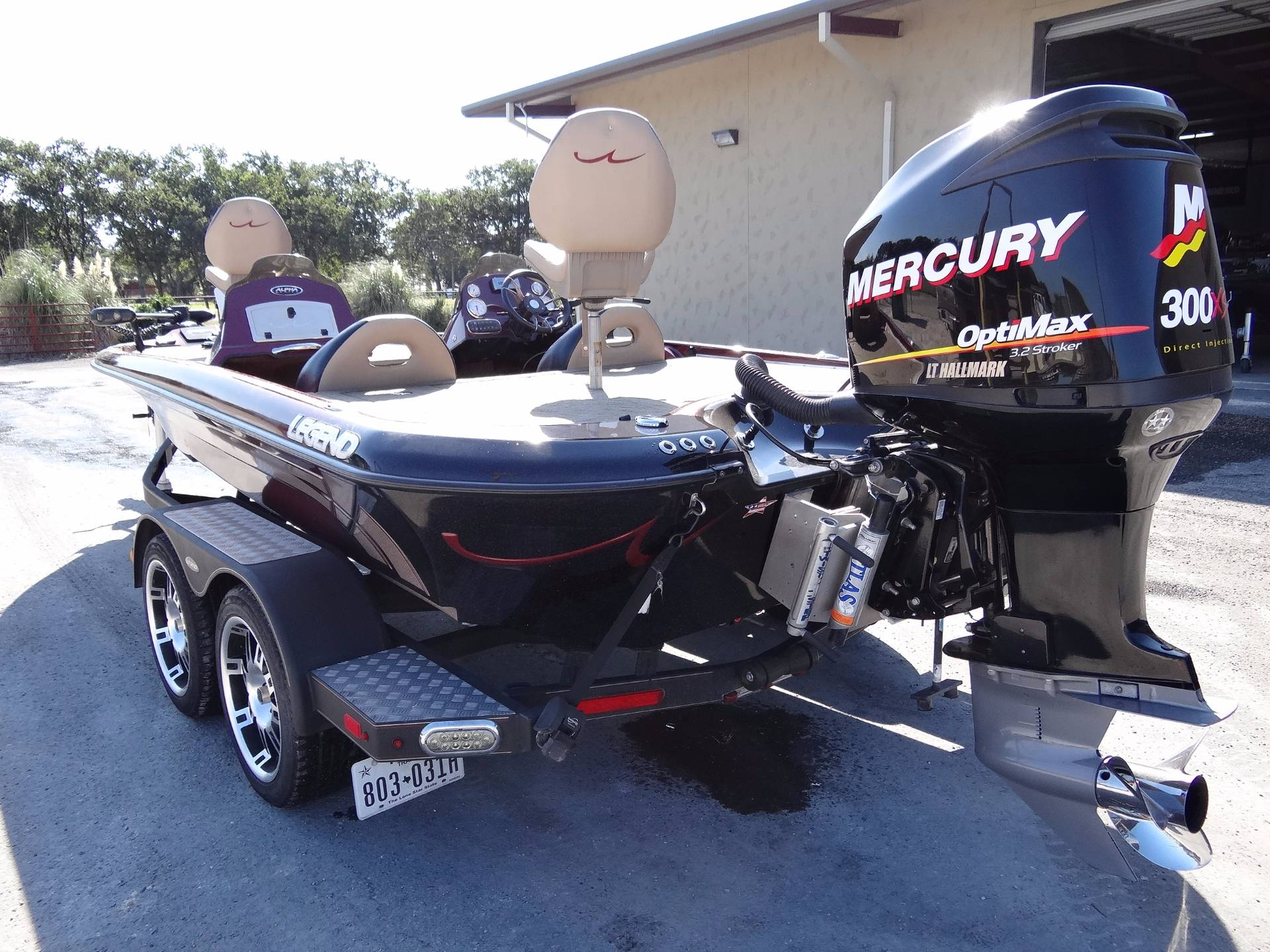 2014 Legend Boats ALPHA 211R DC in Boerne, Texas