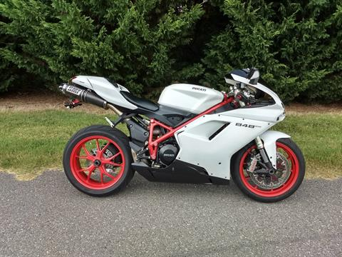 2012 Ducati Superbike 848 EVO in Lowell, North Carolina