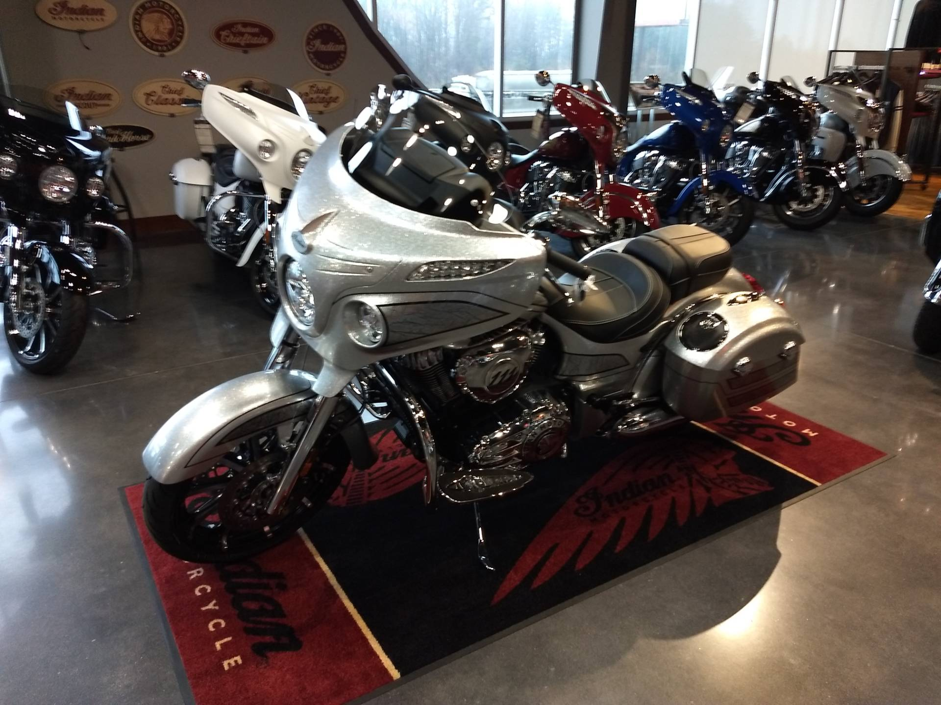 2018 Indian Chieftain Elite in Lowell, North Carolina