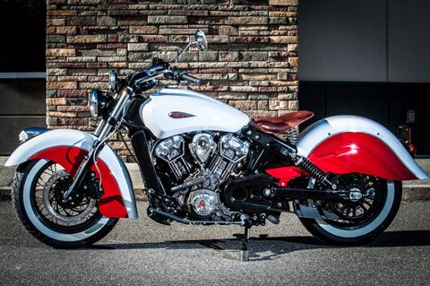 2018 Indian Scout Fusion Custom in Lowell, North Carolina