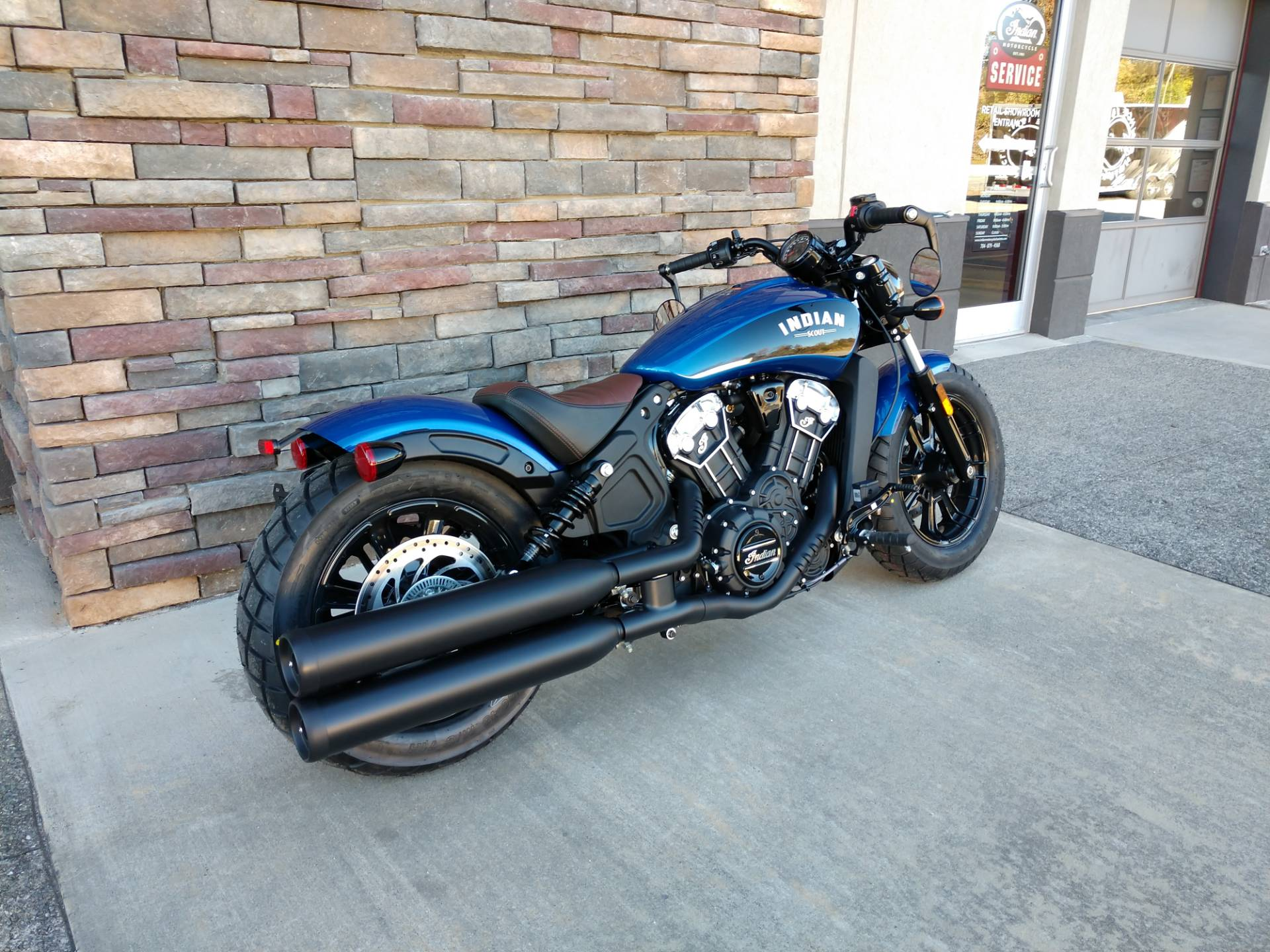 2019 Indian Scout® Bobber ABS Icon Series in Lowell, North Carolina
