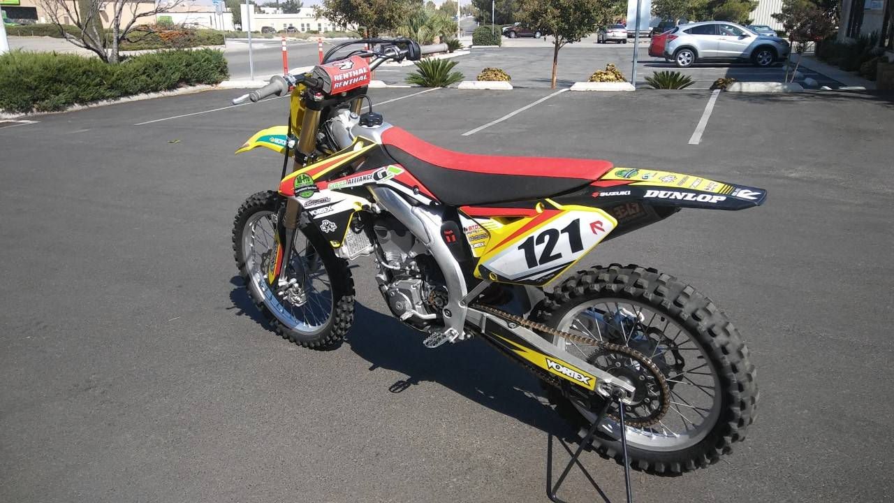 2014 Suzuki RM-Z450 in Victorville, California