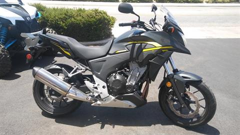 2015 Honda CB500X in Victorville, California