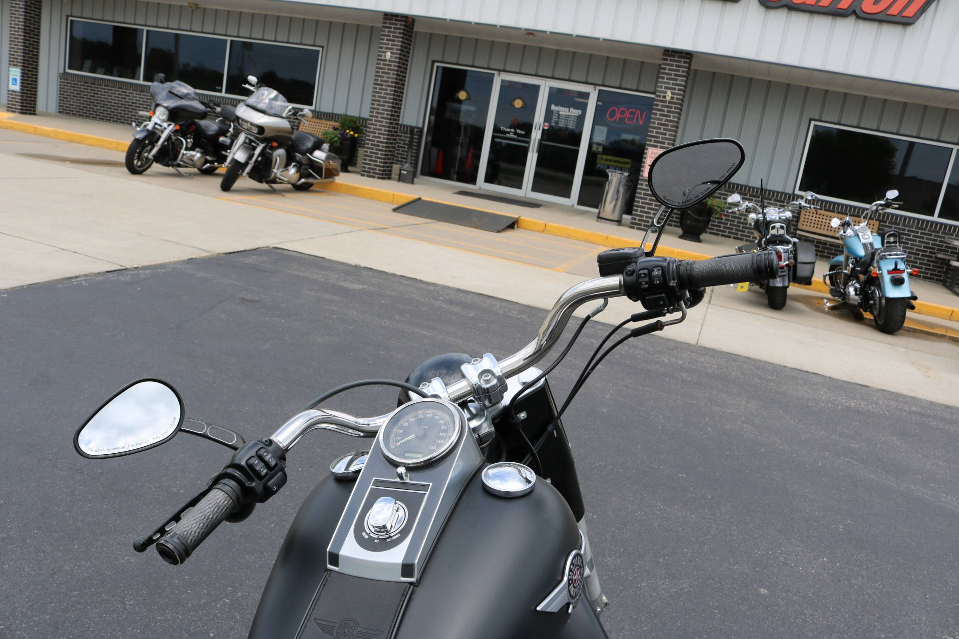 2012 Harley-Davidson Softail® Fat Boy® Lo in Carroll, Iowa - Photo 12
