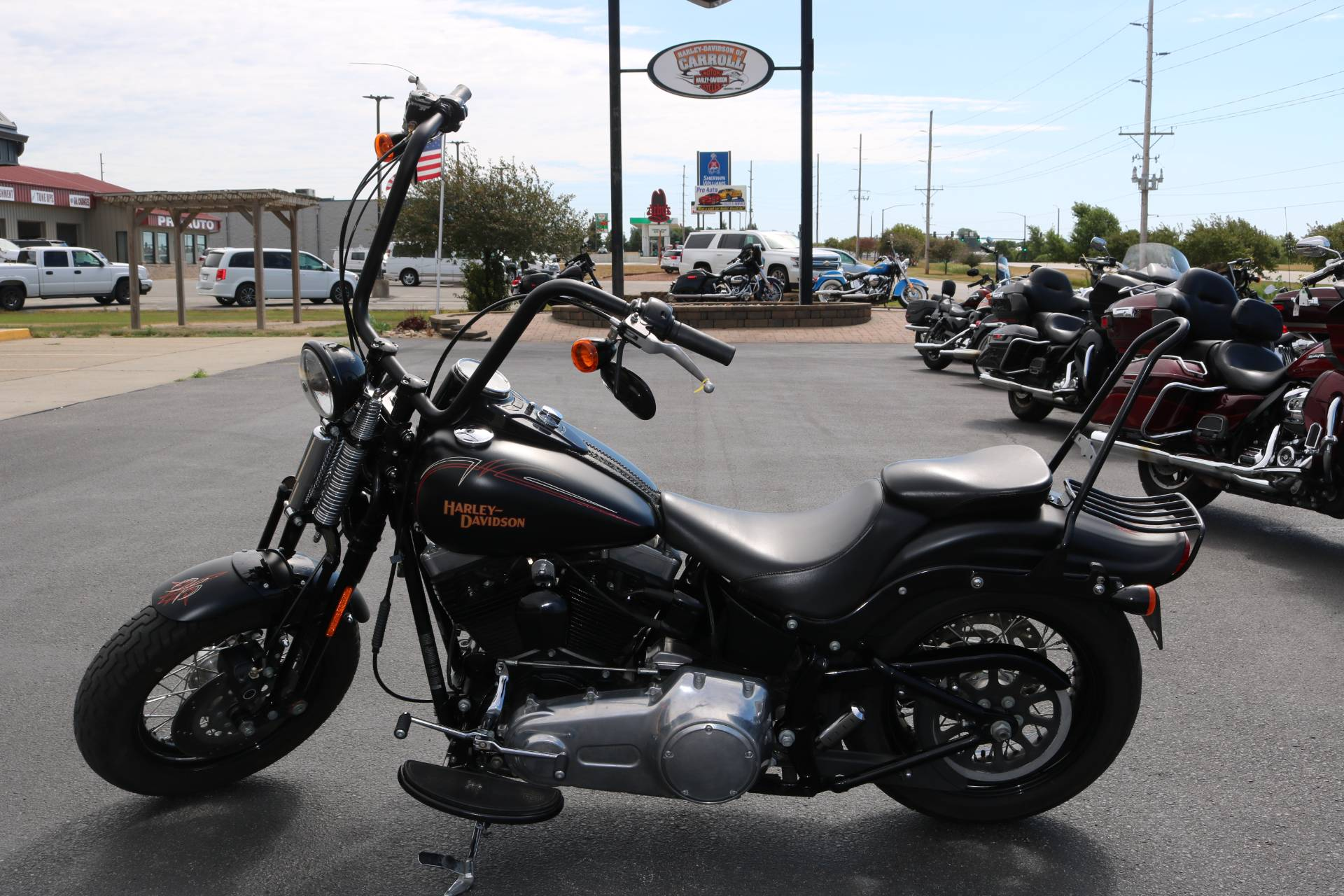 2009 Harley-Davidson Softail® Cross Bones™ in Carroll, Iowa - Photo 1