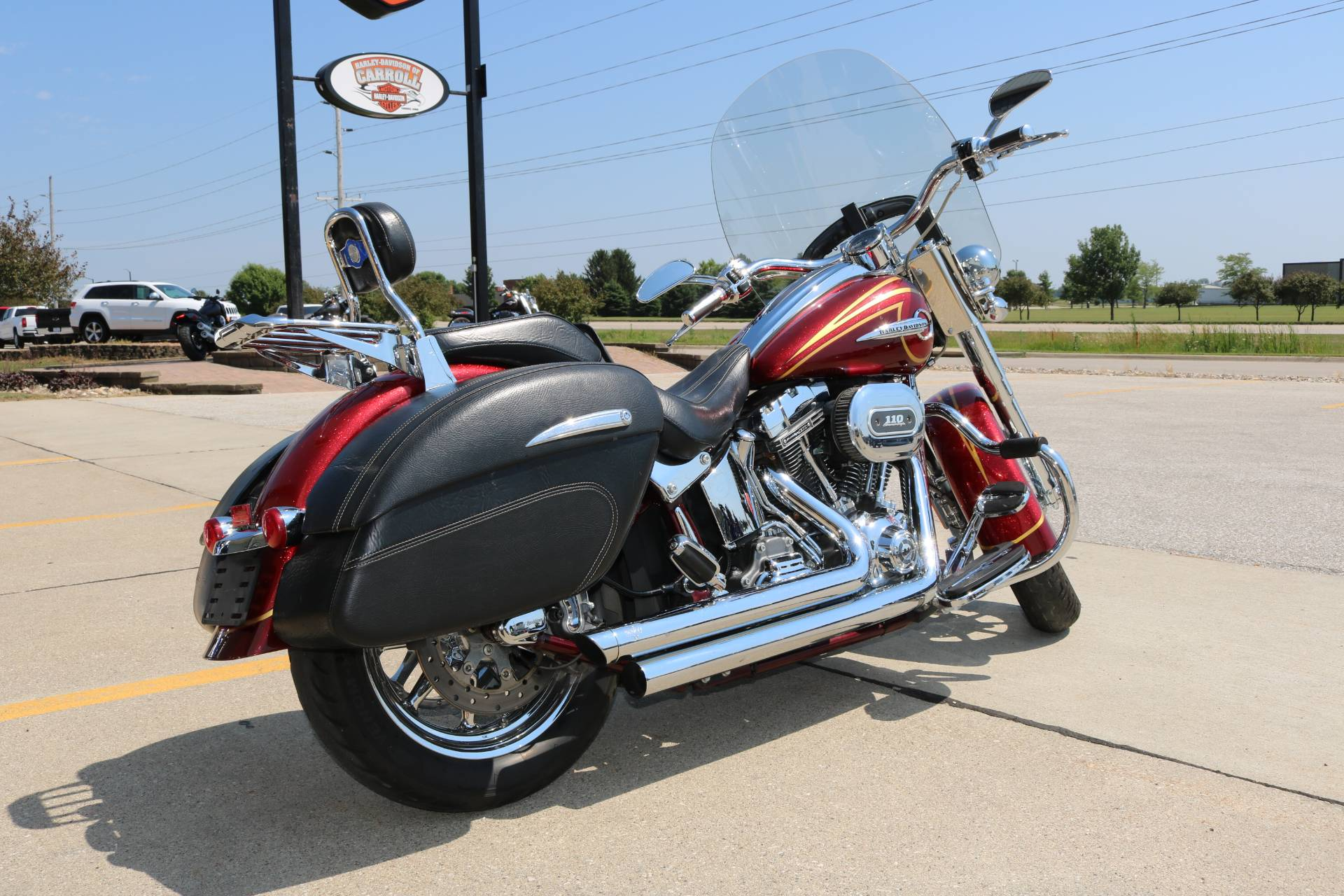 2014 Harley-Davidson CVO™ Softail® Deluxe in Carroll, Iowa - Photo 13