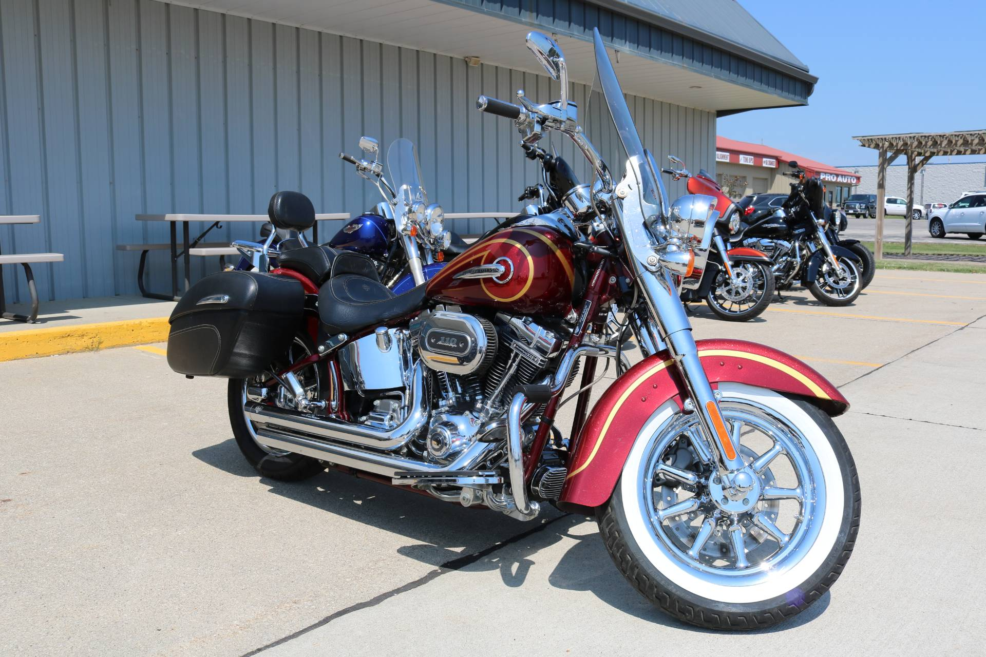 2014 Harley-Davidson CVO™ Softail® Deluxe in Carroll, Iowa - Photo 14
