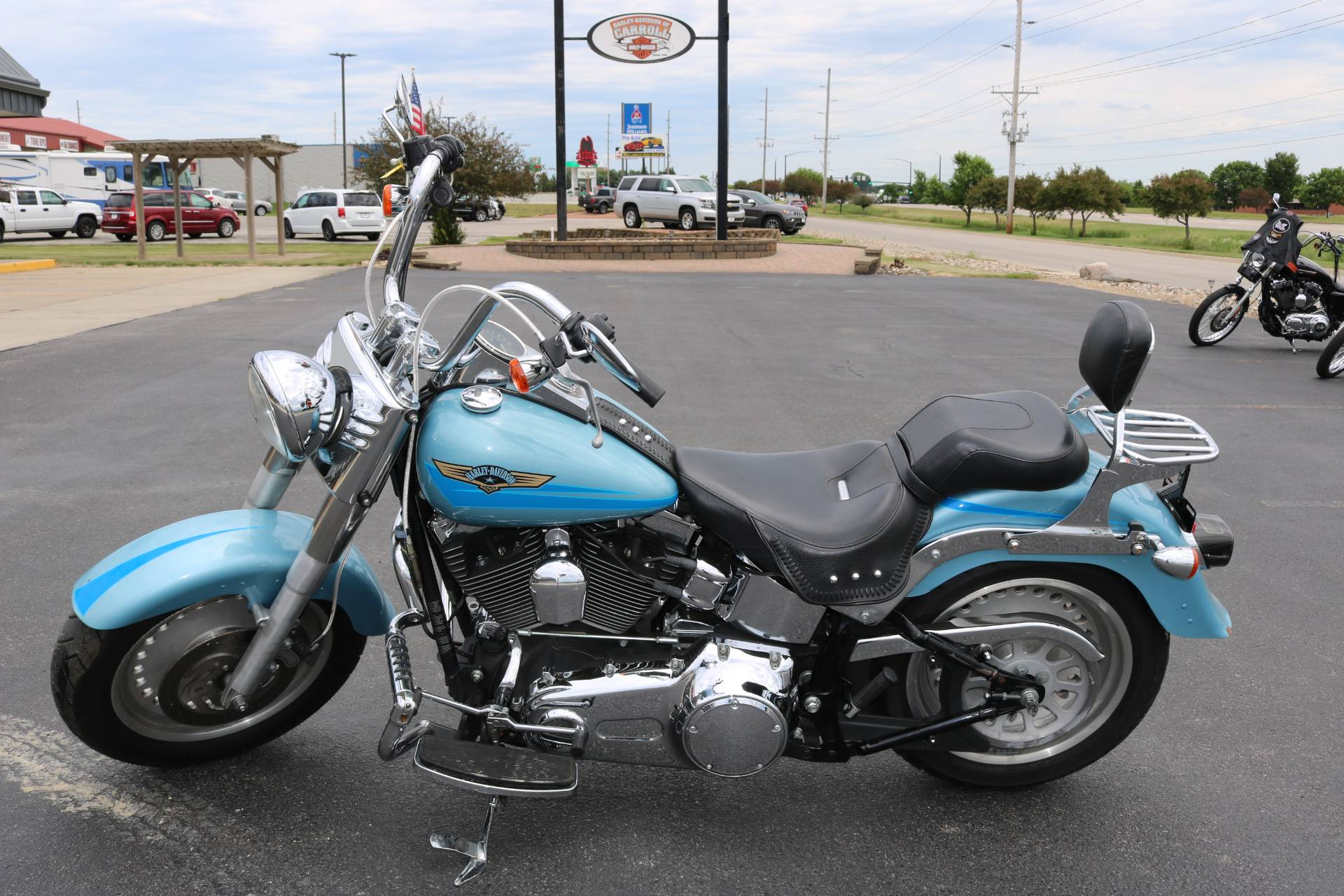 2007 Harley-Davidson FLSTF Softail® Fat Boy® in Carroll, Iowa - Photo 1