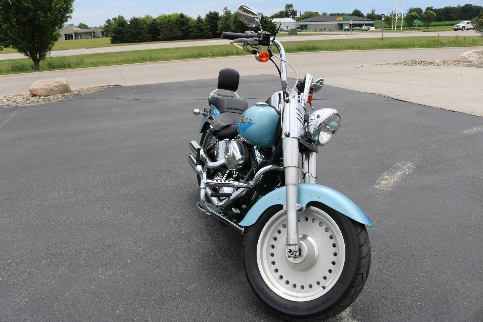 2007 Harley-Davidson FLSTF Softail® Fat Boy® in Carroll, Iowa - Photo 7
