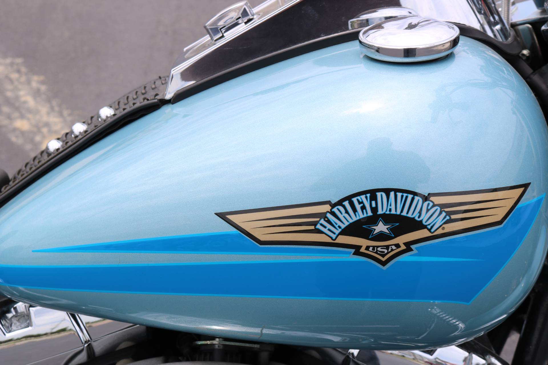 2007 Harley-Davidson FLSTF Softail® Fat Boy® in Carroll, Iowa - Photo 8