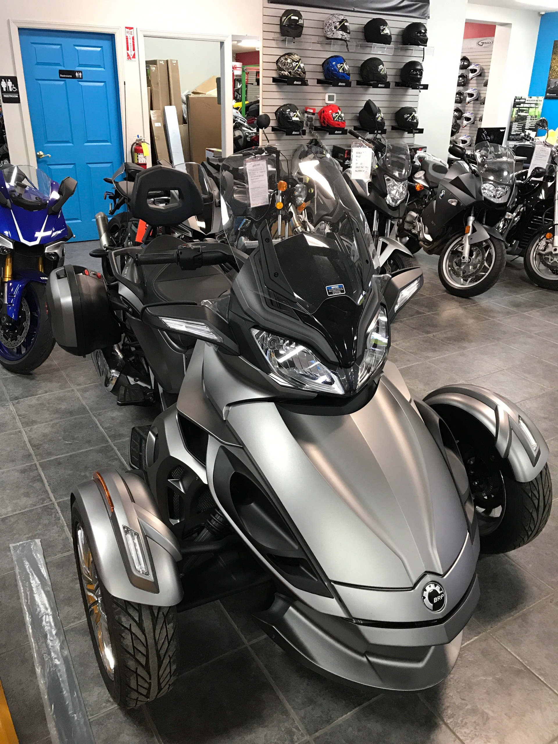 2014 Can-Am Spyder® ST Limited in Ebensburg, Pennsylvania