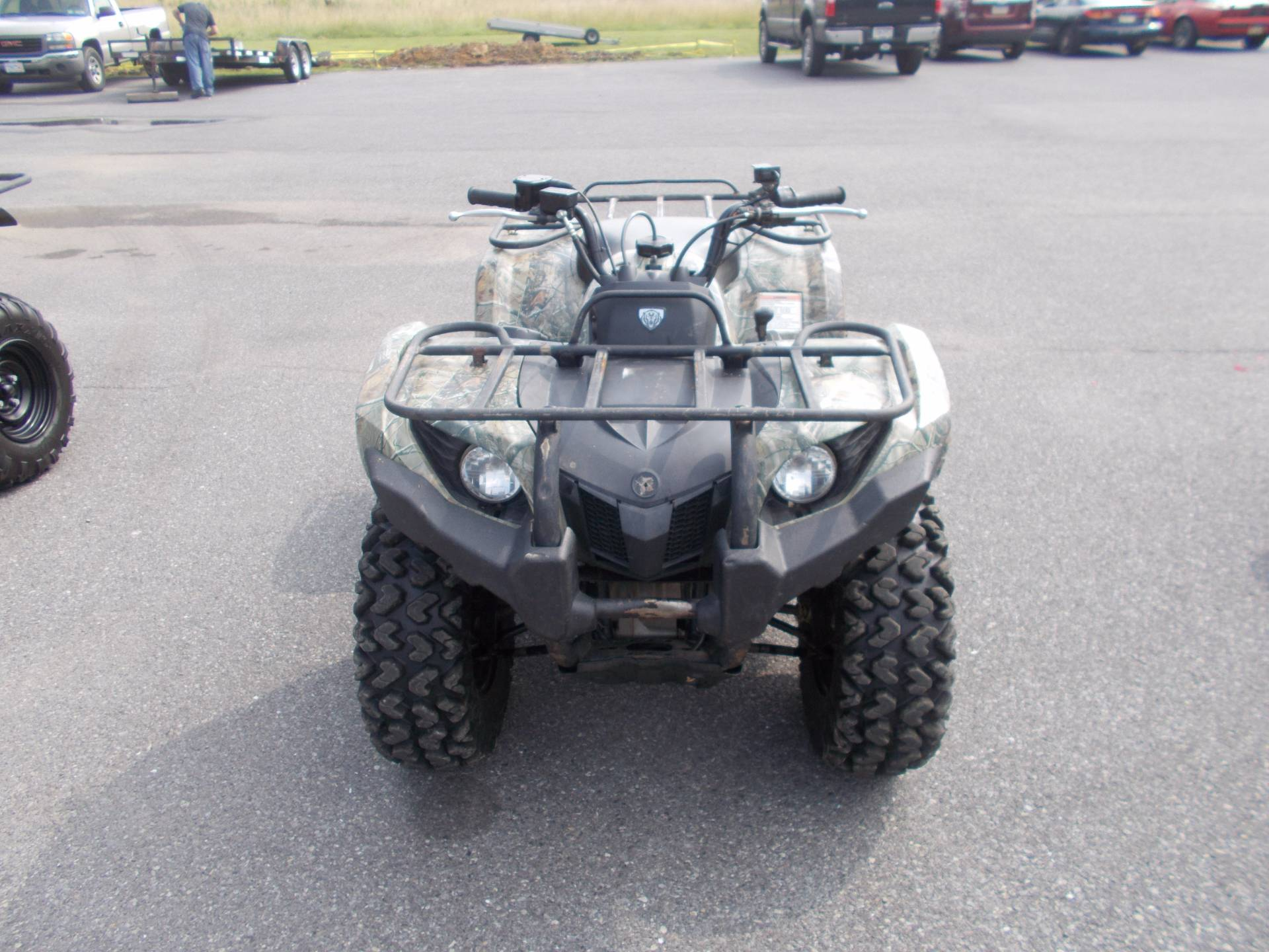 2009 yamaha grizzly 450 auto 4x4 irs for sale ebensburg for Yamaha grizzly 450 for sale