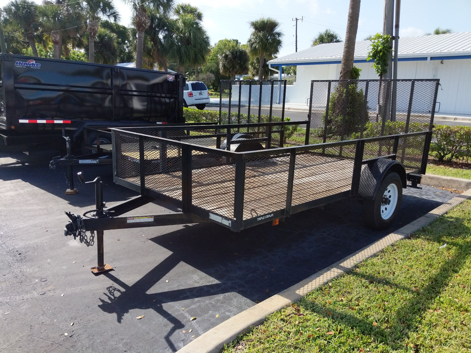 2012 Triple Crown 6X12 Utility with 4' Mesh in Fort Pierce, Florida