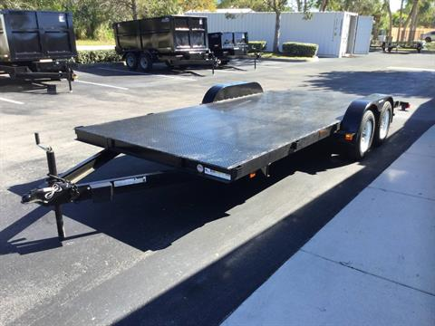 2018 Triple Crown 7X18 Car Hauler with Beavertail in Fort Pierce, Florida