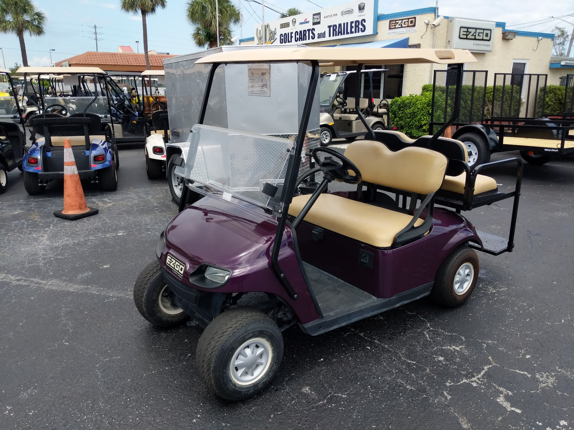 2015 E-Z-GO 4 Passenger TXT 48V in Fort Pierce, Florida - Photo 1