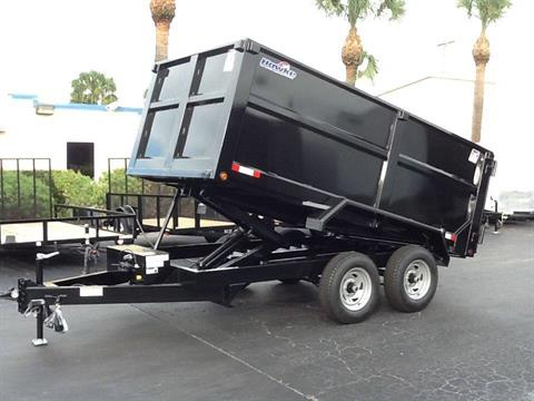 2018 Hawke 6X12 Heavy Duty Lo-Pro 4' Sides in Fort Pierce, Florida