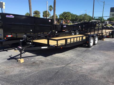 2017 Triple Crown 7X20 ATV Utility Trailer Side Loading in Fort Pierce, Florida