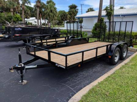 2018 Triple Crown 6X16 Utility Trailer in Fort Pierce, Florida
