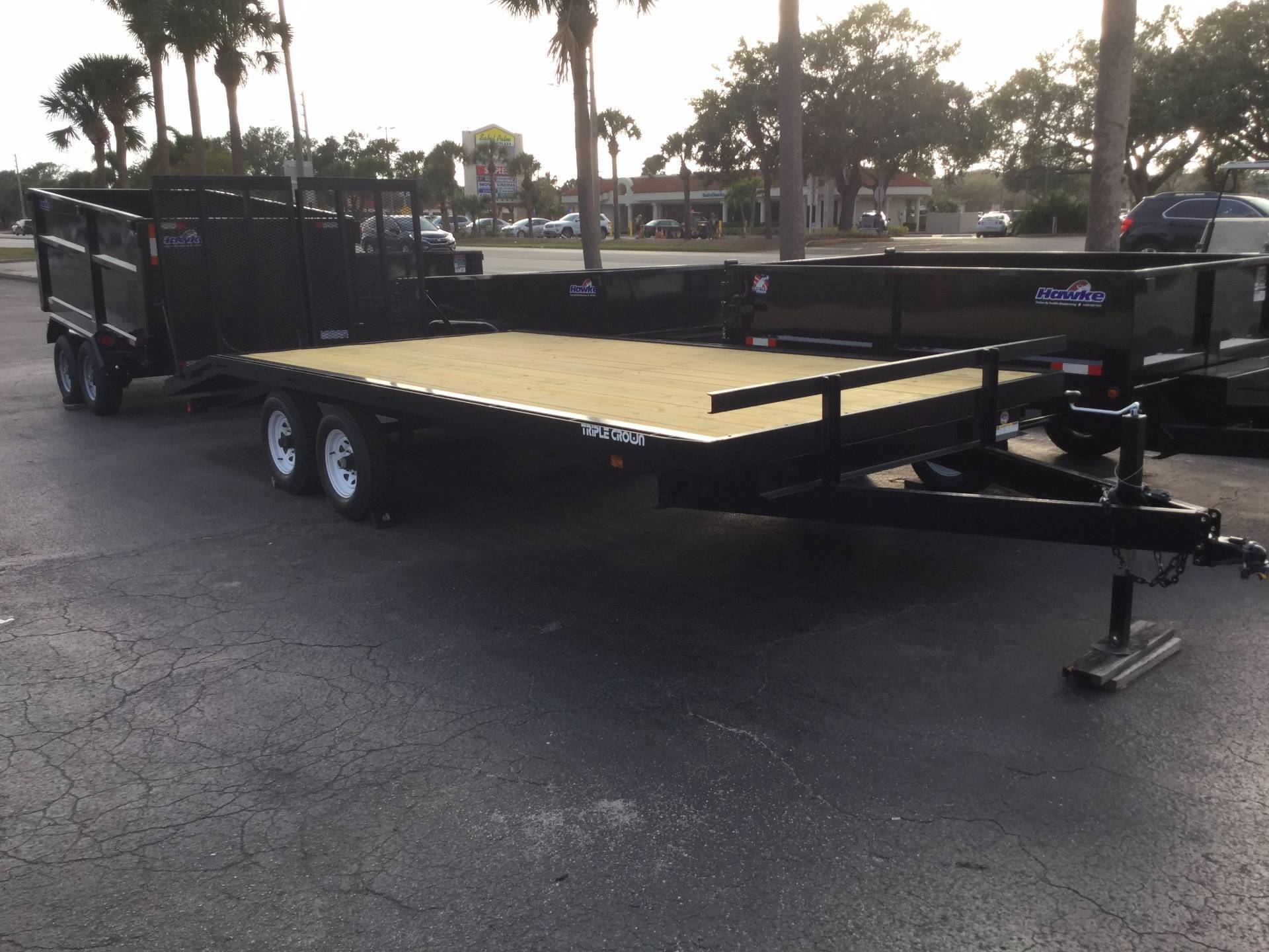 2018 Triple Crown 8X20 Deckover in Fort Pierce, Florida
