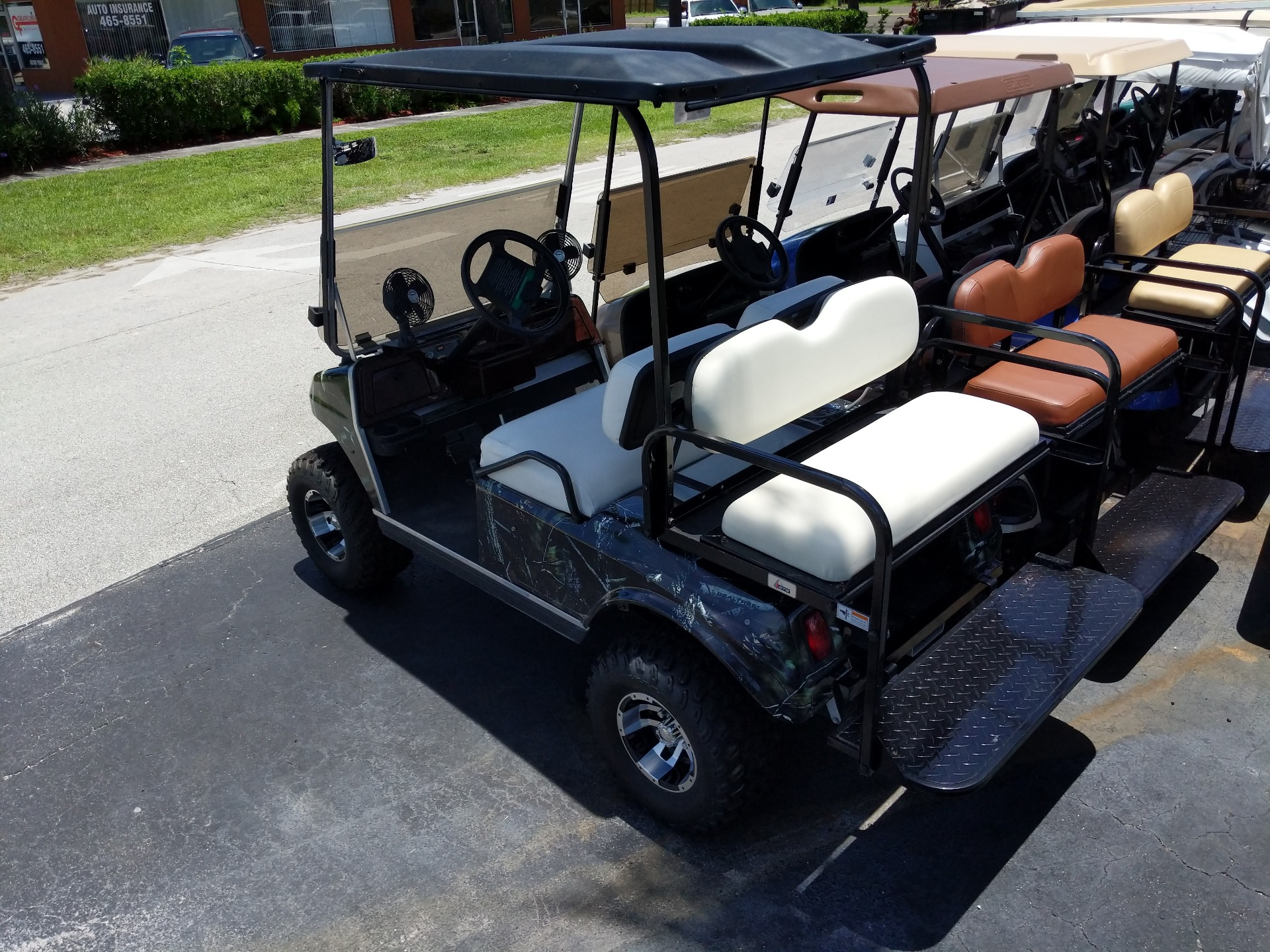 1997 Club Car 4 Passenger Lifted Camo in Fort Pierce, Florida