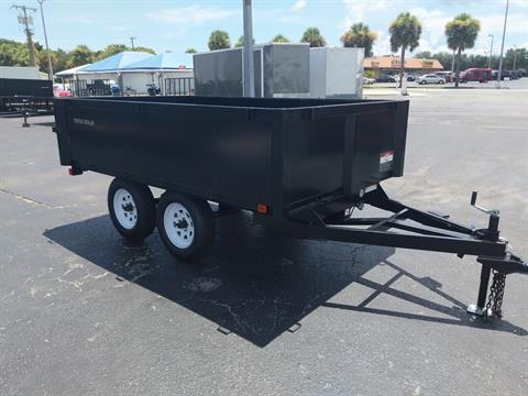2018 Triple Crown 6X10 Deckover Dump in Fort Pierce, Florida