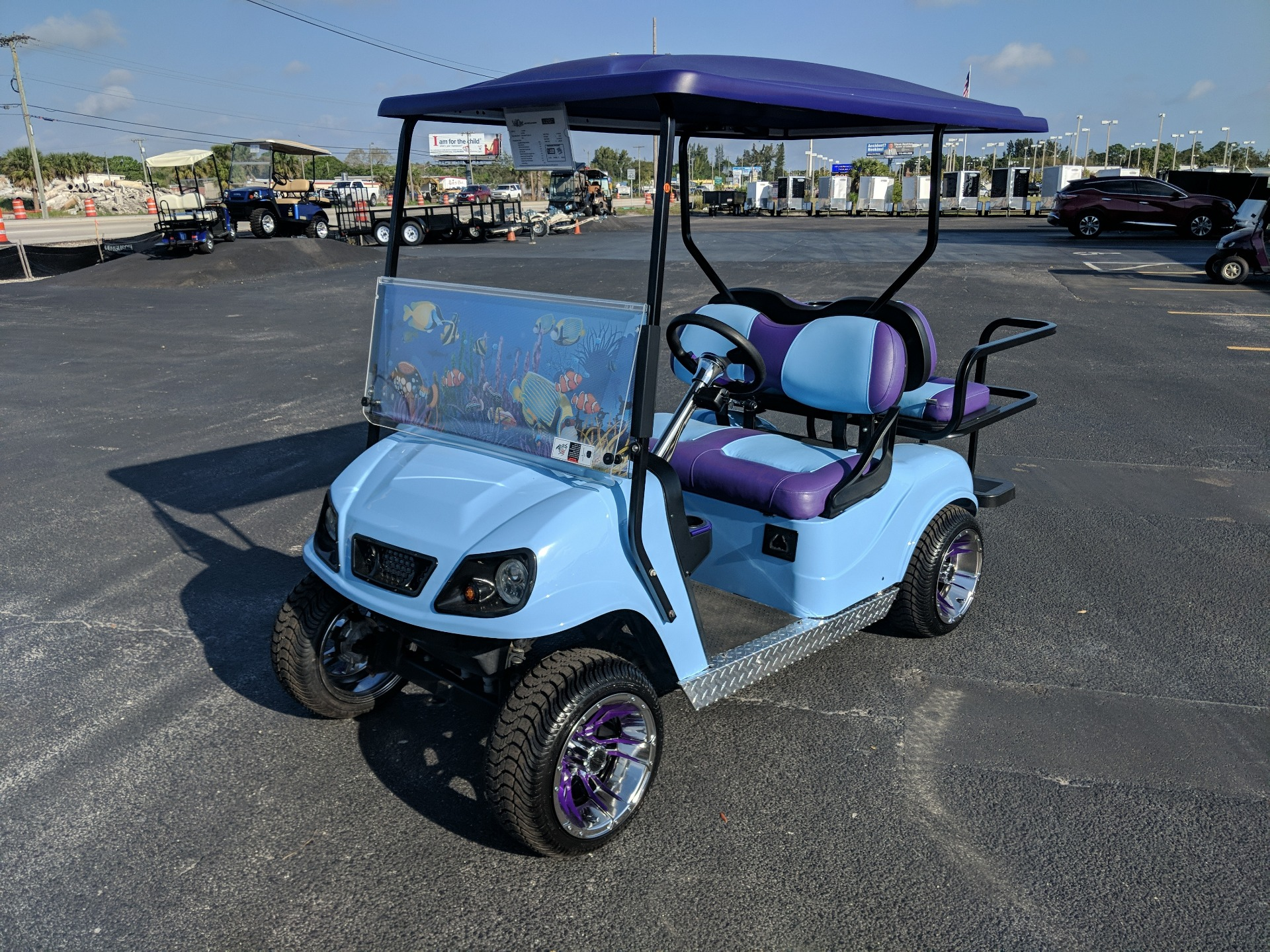 2016 E-Z-GO Custom TXT 48V in Fort Pierce, Florida - Photo 1