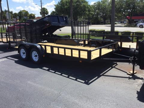 2018 Triple Crown 7X16 ATV Trailer in Fort Pierce, Florida