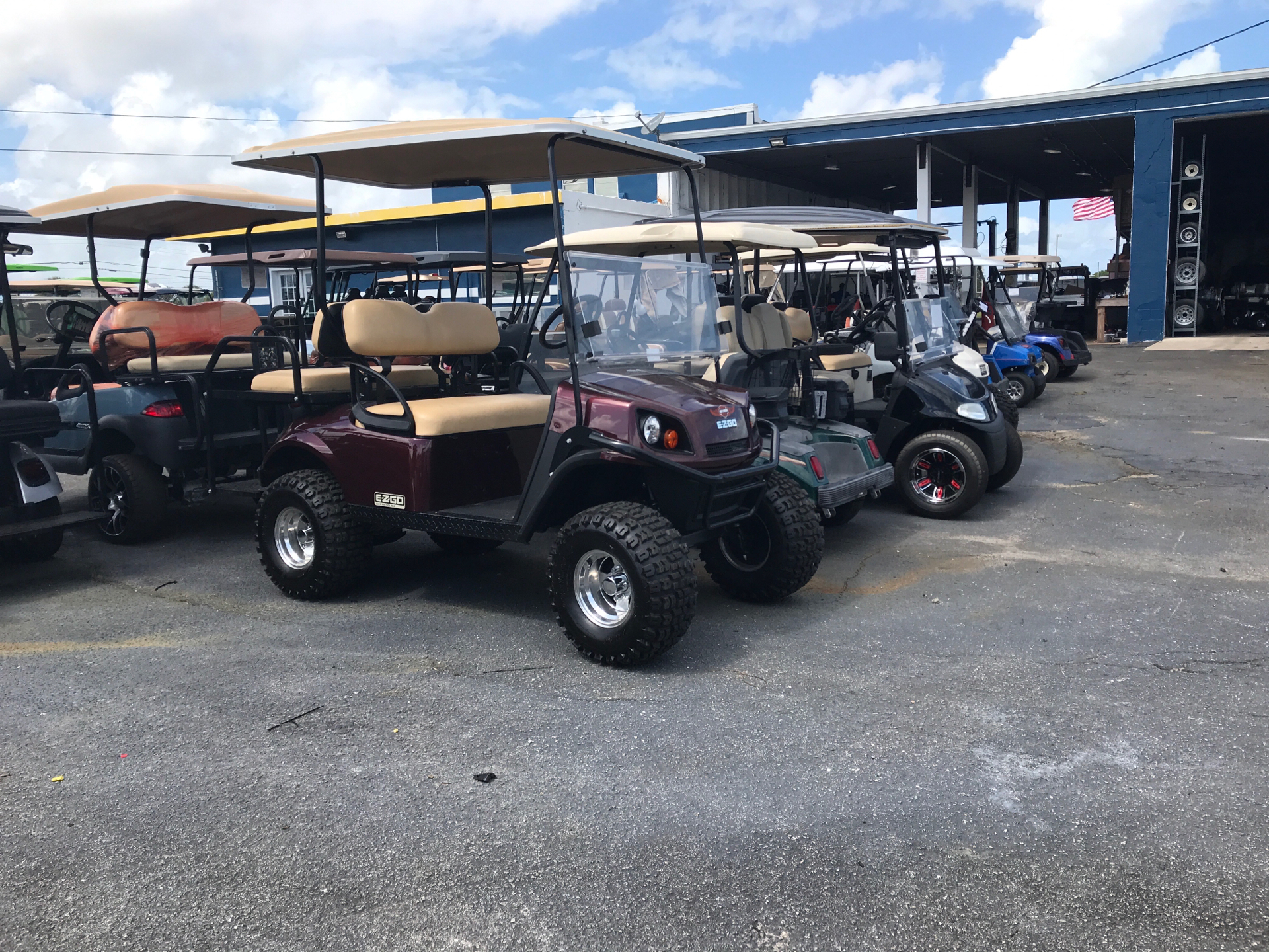2016 E-Z-GO S-4 in Fort Pierce, Florida