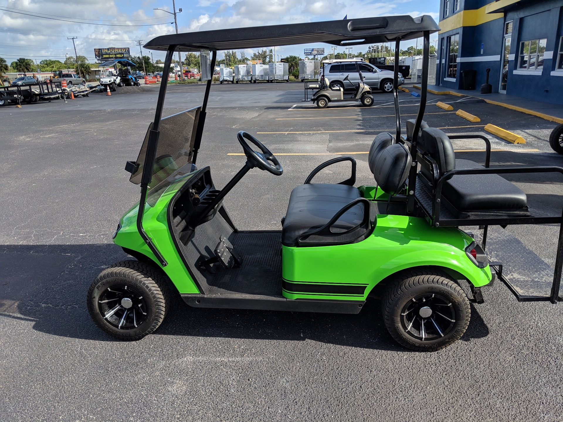 2016 E-Z-Go 4 Passenger Custom in Fort Pierce, Florida - Photo 2