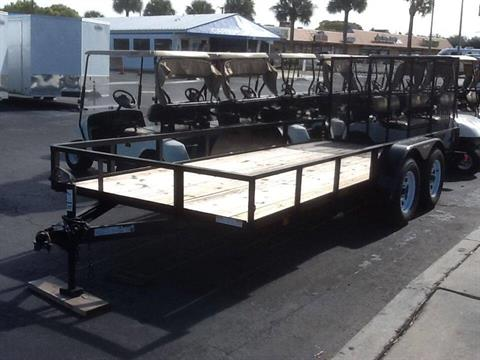 2018 Triple Crown 6X16 Utility with Brakes in Fort Pierce, Florida