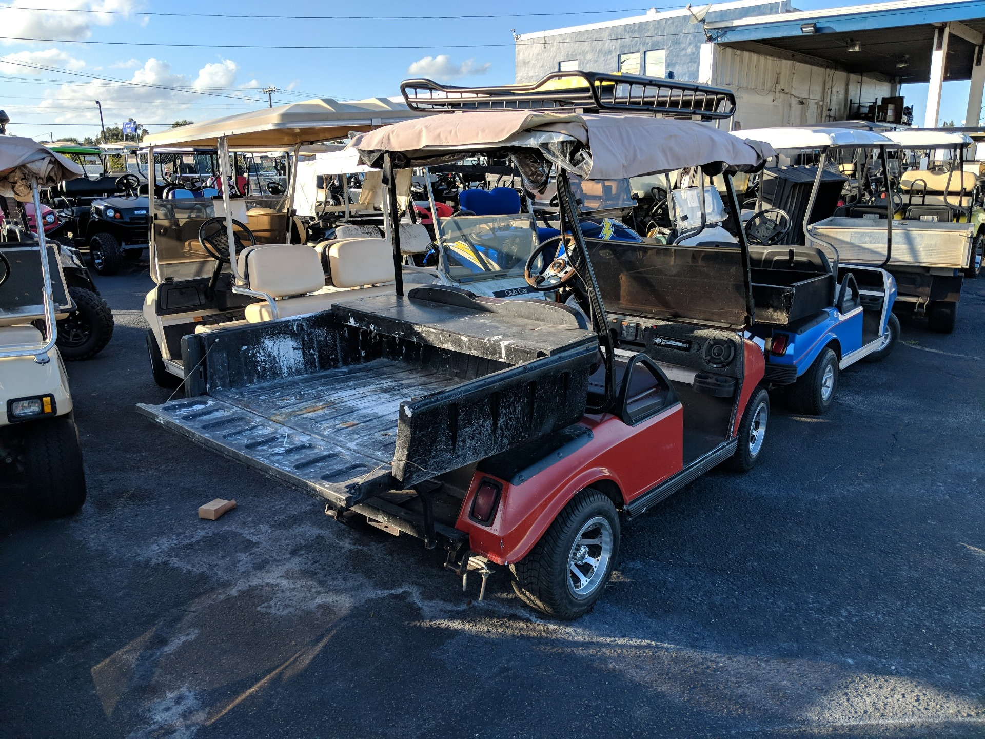 2011 Club Car Utility Work Cart in Fort Pierce, Florida