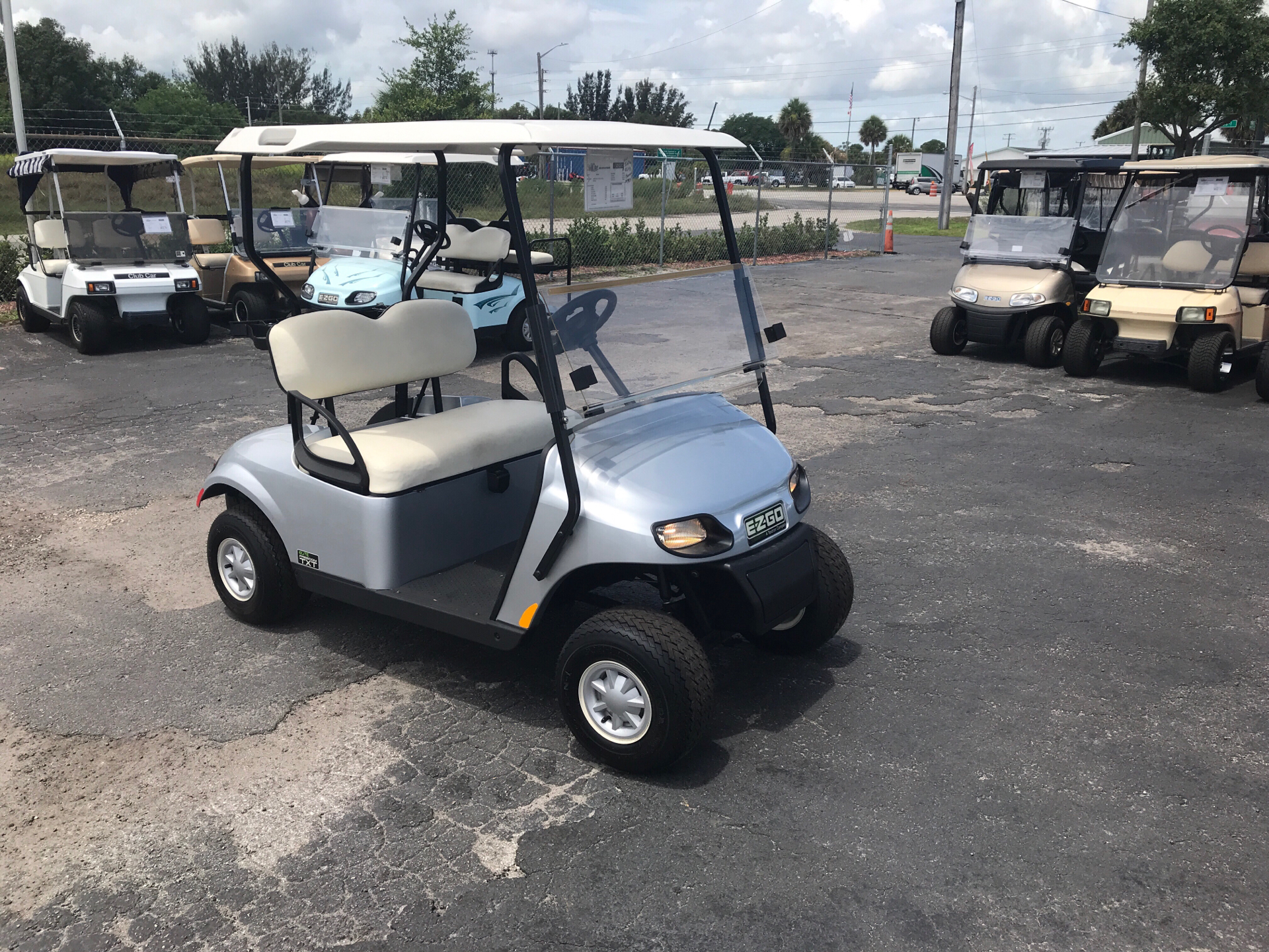 2018 E-Z-Go Freedom TXT Electric Elite 2.0 in Fort Pierce, Florida