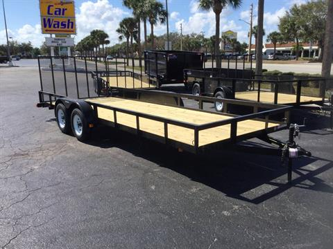 2018 Triple Crown 7X20 Utility Trailer in Fort Pierce, Florida
