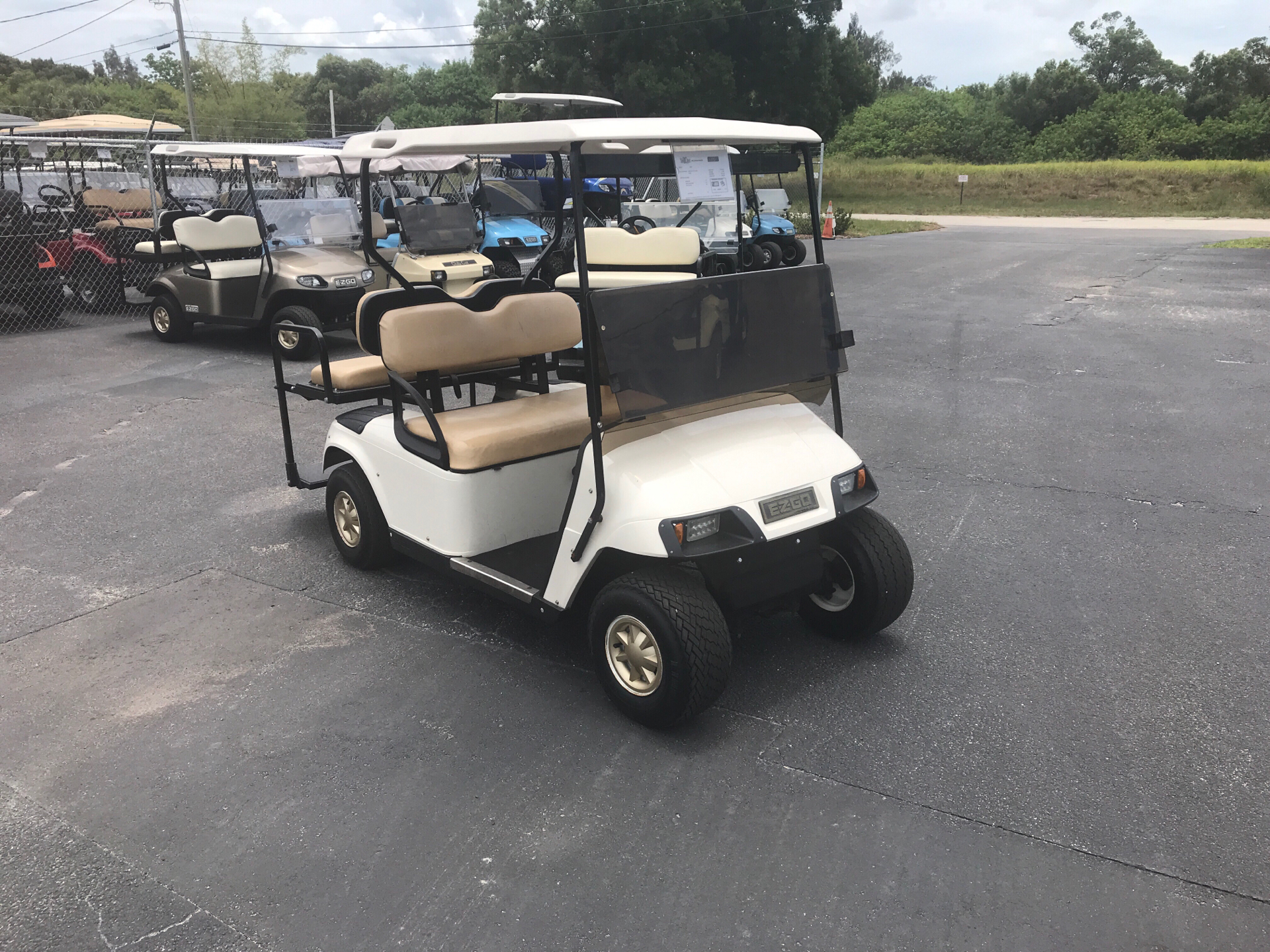 2008 E-Z-Go 4 Passenger TXT in Fort Pierce, Florida